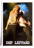Def Lepard - 'Joe on Stage' Postcard